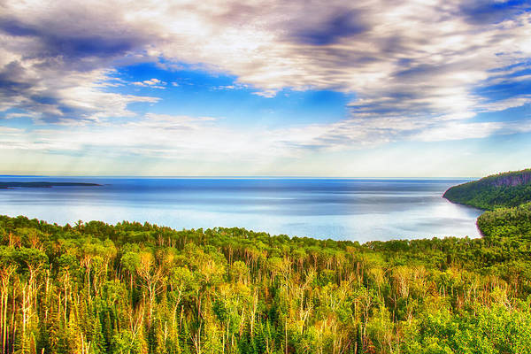 Wall Art - Photograph - Heavens Over Lake Superior by Bill Tiepelman