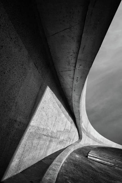 Wall Art - Photograph - Heavy Concrete by Jeroen Van De