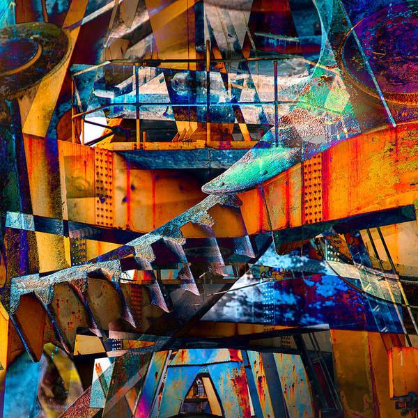 Digital Art - Heavy Duty II by Andy Bitterer