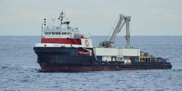 Photograph - Heavy Duty Work Boat by Bradford Martin