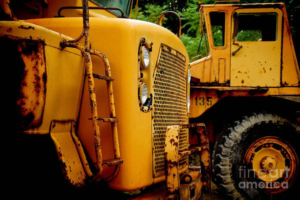 Excavator Photograph - Heavy Equipment by Amy Cicconi