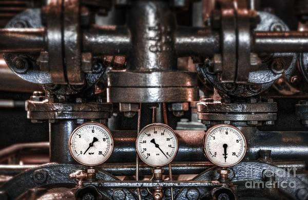 Steam Engine Photograph - Heavy Machinery by Carlos Caetano