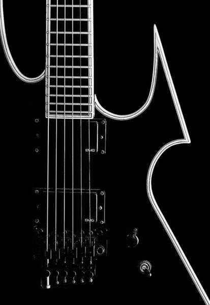 Wall Art - Photograph - Heavy Metal Guitar by Staab Franz