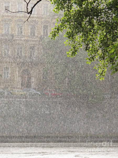 Photograph - Heavy Rain by Jan Halaska