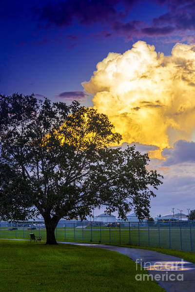Cumulus Photograph - Heavy Sky by Marvin Spates