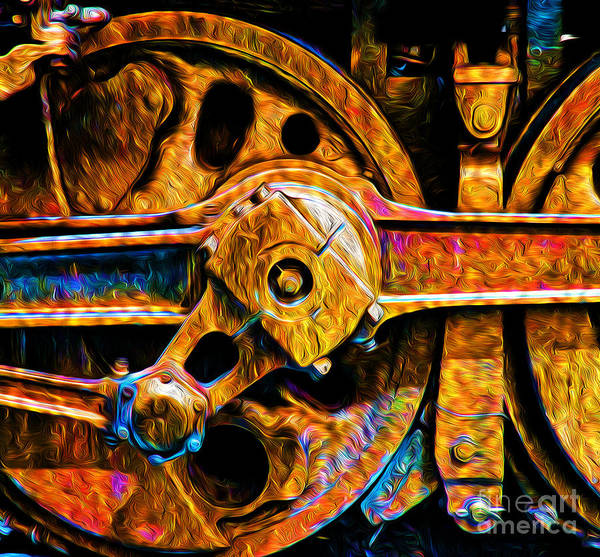 Photograph - Heavy Steel by Paul W Faust -  Impressions of Light