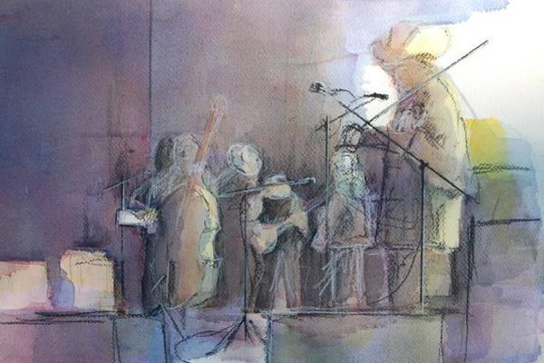 Jam Painting - Heavy Traffic Ahead by Robert Yonke