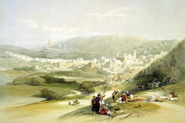 Holy Land Photograph - Hebron by Munir Alawi