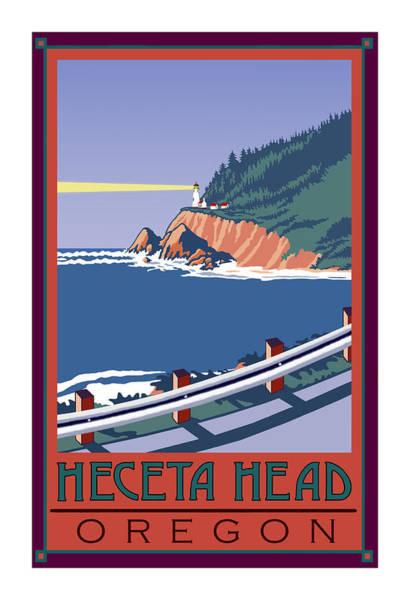 101 Digital Art - Heceta Head by Kenneth Wilson