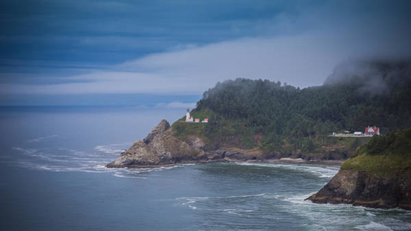 Photograph - Heceta Head Lighthouse by Carrie Cole