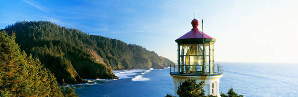 Heceta Head Lighthouse Photograph - Heceta Head Lighthouse, Florence by Panoramic Images