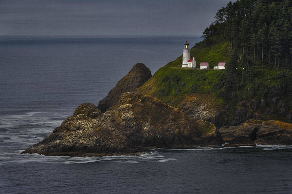 Keeper Photograph - Heceta Head Lighthouse by Joan Carroll