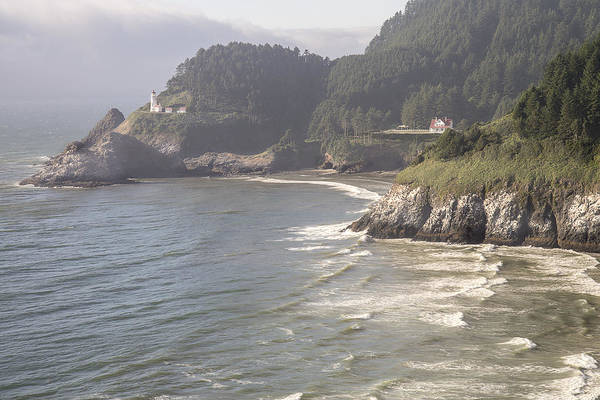 Photograph - Heceta Head Lighthouse by Lee Kirchhevel