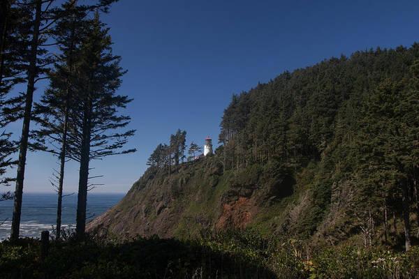 Heceta Head Lighthouse Photograph - Heceta Head Lighthouse by W Chris Fooshee