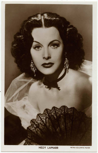 Wall Art - Photograph - Hedy Lamarr (1914  2000), (hedwig by Mary Evans Picture Library