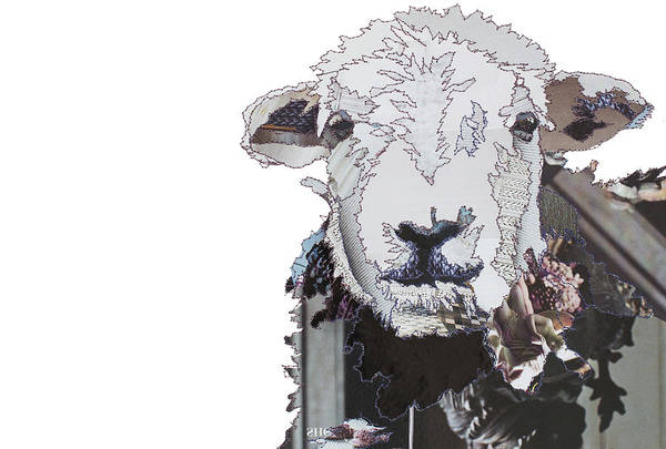 Stitch Painting - Hefty The Herdwick by MGL Meiklejohn Graphics Licensing