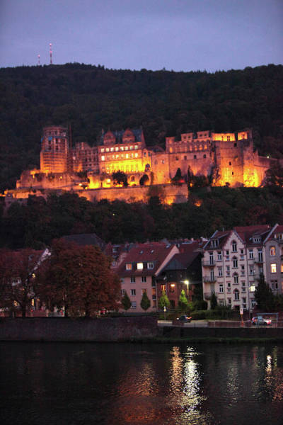 Baden Wuerttemberg Photograph - Heidelberg Castle Illuminated At Night by Clay McLachlan