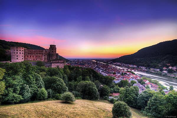 Photograph - Heidelberg Dusk by Ryan Wyckoff