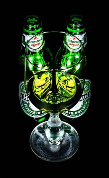 Wall Art - Photograph - Heineken by Diana Angstadt