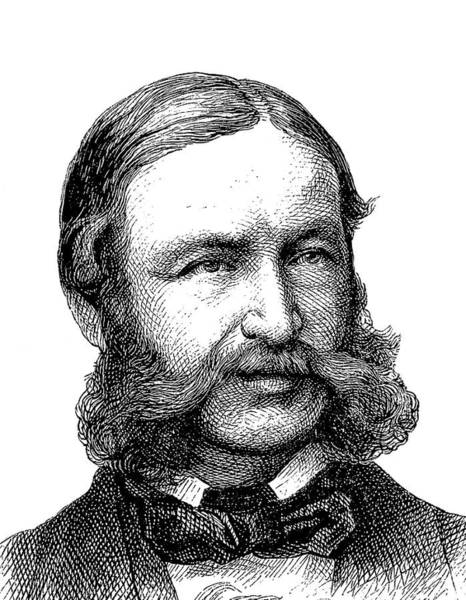 Engraving Photograph - Heinrich Barth by Bildagentur-online/tschanz