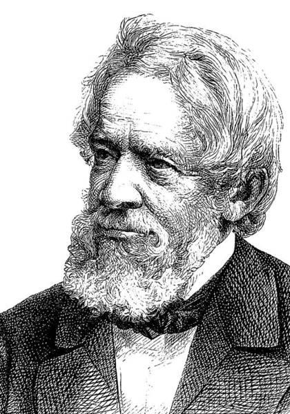 Engraving Photograph - Heinrich Dove by Bildagentur-online/tschanz