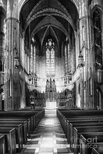 Photograph - Heinz Memorial Chapel Interior by Thomas R Fletcher