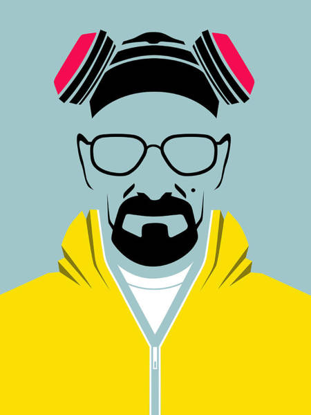 Bad Wall Art - Digital Art - Heisenberg Poster by Naxart Studio
