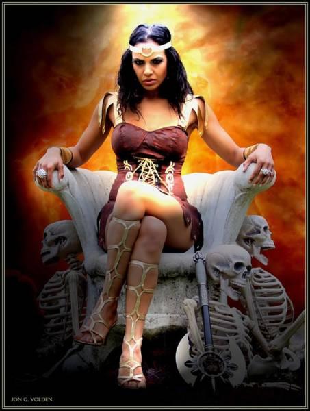 Photograph - Hel Goddess Of Death by Jon Volden