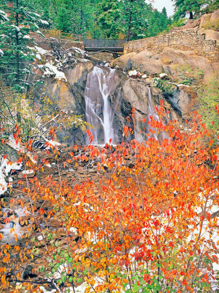 Helen Hunt Falls Photograph - Life Is An Arbitrary Eruption Of The Inexplicable And Ineffable.  by Bijan Pirnia
