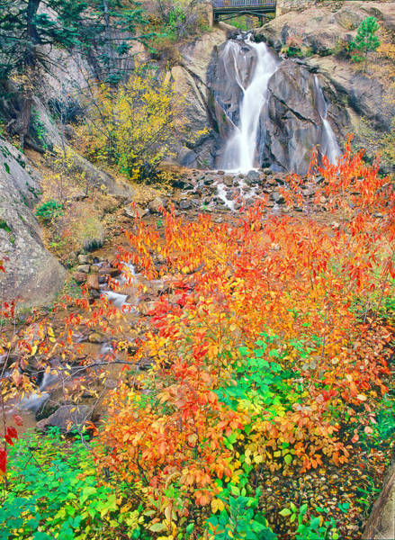 Helen Hunt Falls Photograph - Helen Hunt Falls Autumn V II Wide by Bijan Pirnia
