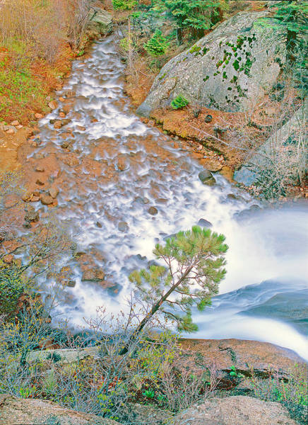 Helen Hunt Falls Photograph - Helen Hunt Falls Shot From Above V by Bijan Pirnia