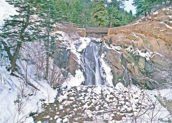 Helen Hunt Falls Photograph - Helen Hunt Falls Winter Beauty by Bijan Pirnia