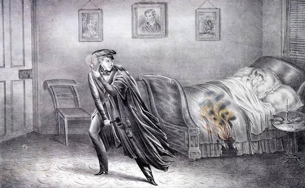 Murderer Painting - Helen Jewett (1813-1836) by Granger