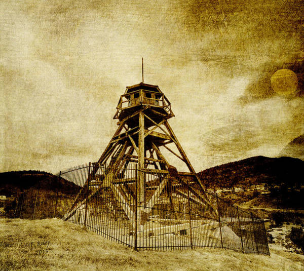 Helena-montana-fire Tower Art Print