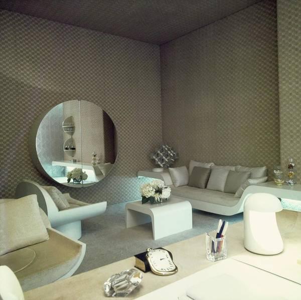Wall Art - Photograph - Helene Rochas' Office by Horst P. Horst