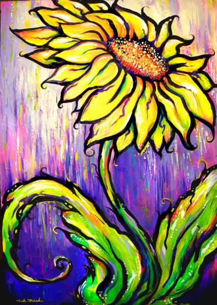 Painting - Sunflower I by Nada Meeks