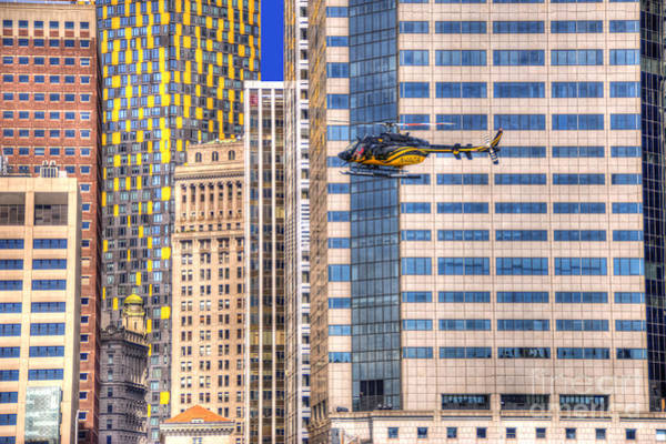 Photograph - Helicopter In The City by Juli Scalzi