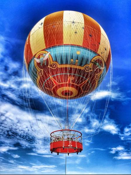 Photograph - Helium Balloon by Pat Moore