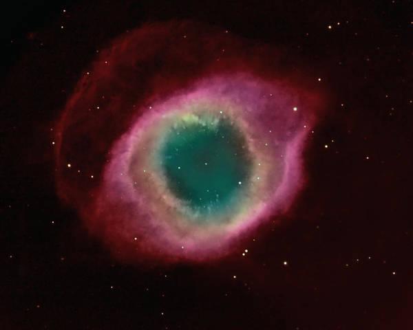 Wall Art - Photograph - Helix Nebula by Jason T. Ware