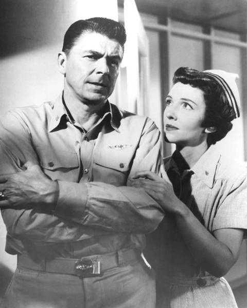 Ronald Reagan Photograph - Hellcats Of The Navy  by Silver Screen