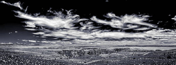 Photograph - Hellhole Bend - Bw by Chris Bordeleau