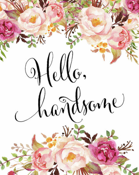 Wall Art - Painting - Hello Handsome by Tara Moss