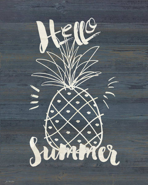 Fruit Wall Art - Painting - Hello Sumer by Jo Moulton