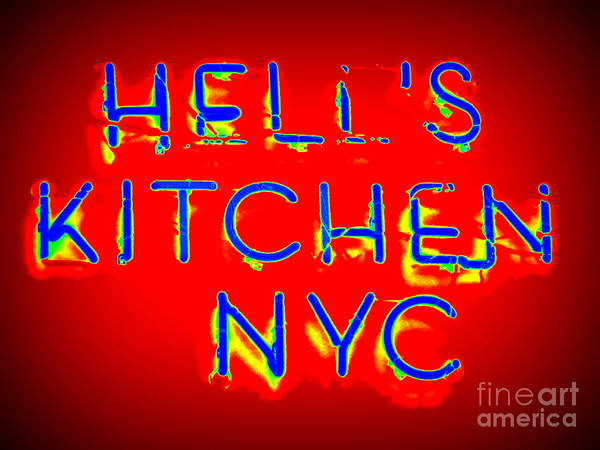 Hells Kitchen Wall Art - Photograph - Hell's Kitchen Nyc by Ed Weidman
