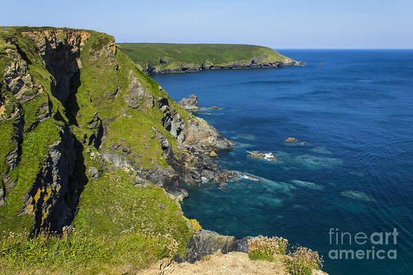 Photograph - Photographs Of Cornwall Hells Mouth Cornwall by Brian Roscorla