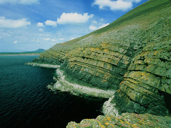 Grit Wall Art - Photograph - Hells Mouth Grits In North Wales by Sinclair Stammers/science Photo Library