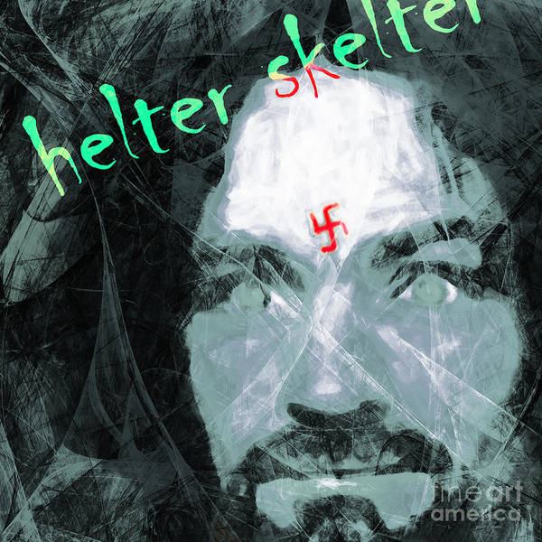 Photograph - Helter Skelter 20141213 Square V3 by Wingsdomain Art and Photography