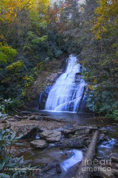 Photograph - Helton Creek Falls by Barbara Bowen