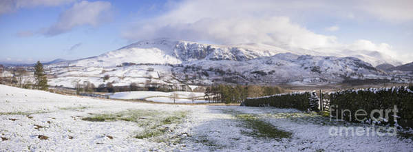 Photograph - Helvellyn Mountain Range by Tim Gainey