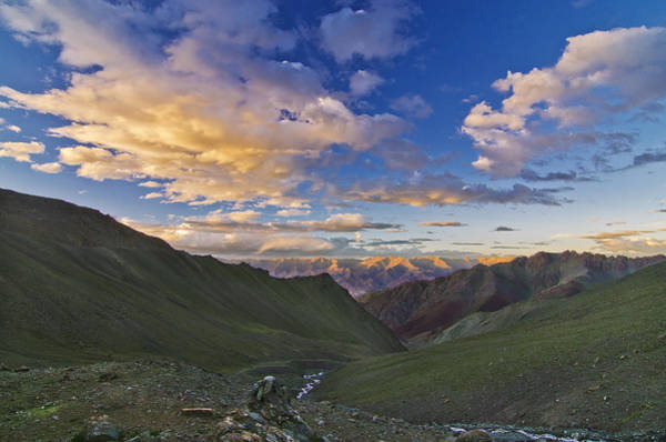 Mountain Climbing Photograph - Hemis Sunset by Aaron Bedell